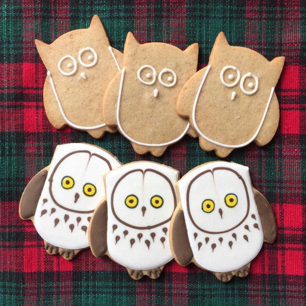 Owl shaped Cookies