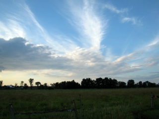 Earth & Sky view